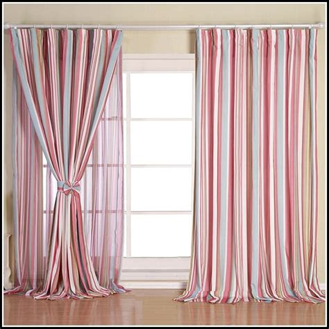 Pink And White Striped Curtains Yellow And White Vertical Striped Curtains Page Home Design Ideas Galleries Home