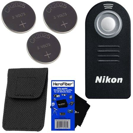 nikon ml l3 wireless remote control with storage case for