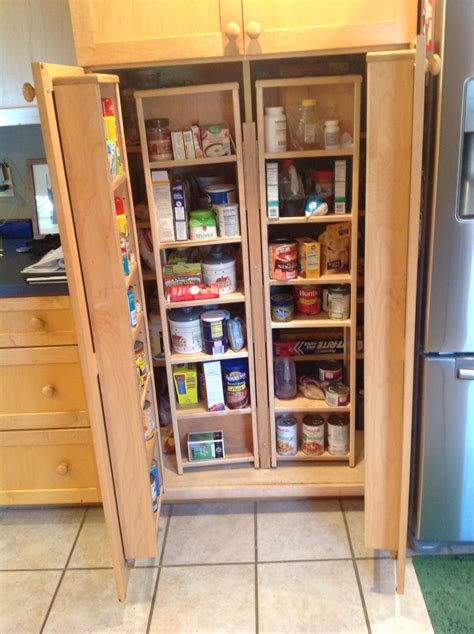 furniture large light gray pantry kitchen cabinet with