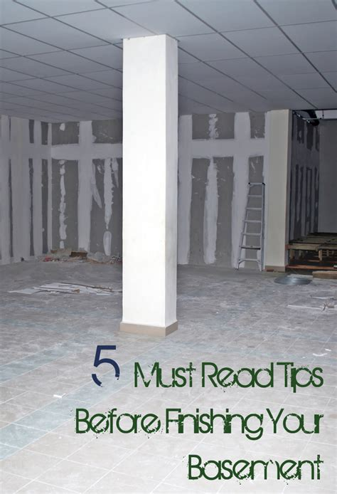 5 things you must before finishing your basement
