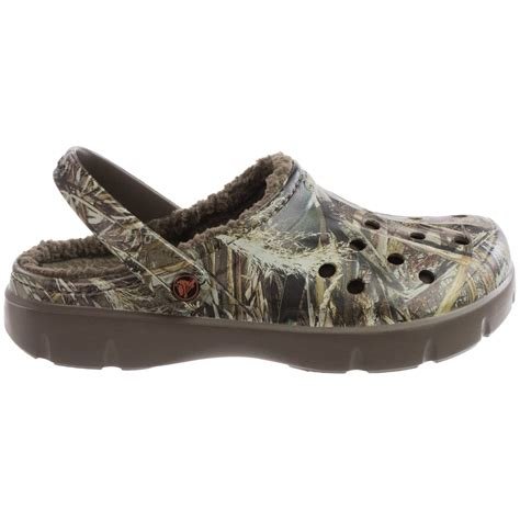 crocs clogs for crocs dasher realtree max 5 174 lined clogs for and