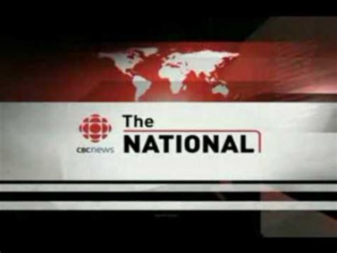the national opening for cbc news the national 2006 2009 youtube