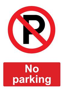 no parking signs template reserved parking template 25 best ideas about no parking