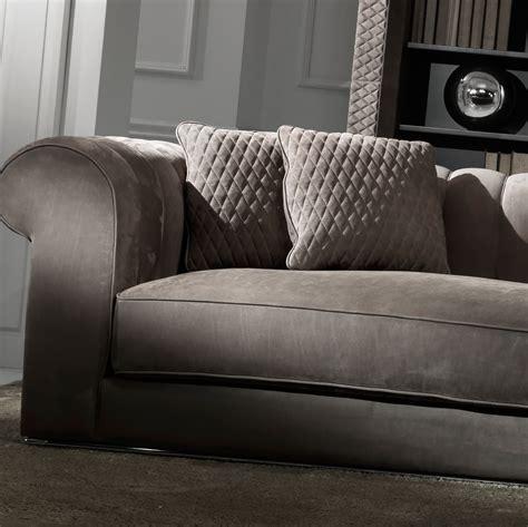 large brown leather sofa large modern chocolate brown nubuck leather italian sofa