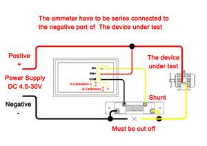 need wiring diagram for combo dc 100v 10a meter drok