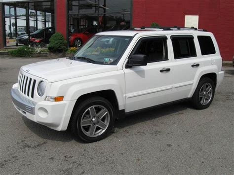 2007 Jeep Patriot 4x4 2007 Jeep Patriot Limited 4x4 4dr Suv In Houston Pa