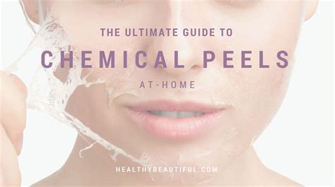 the best at home chemical peels of 2017 the ultimate