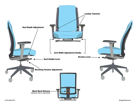 seat depth stingerchair chair operation instructions