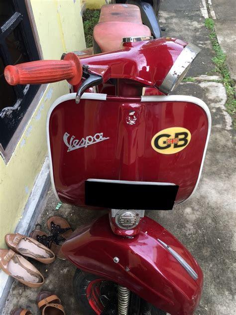 Jual Alarm Motor Jakarta Utara jual vespa sprint tahun 1981 jual motor piaggio liberty