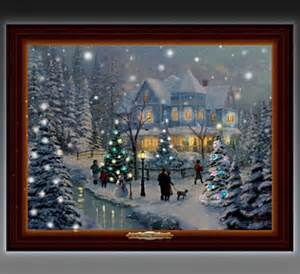 home interiors kinkade prints kinkade a homecoming lighted musical
