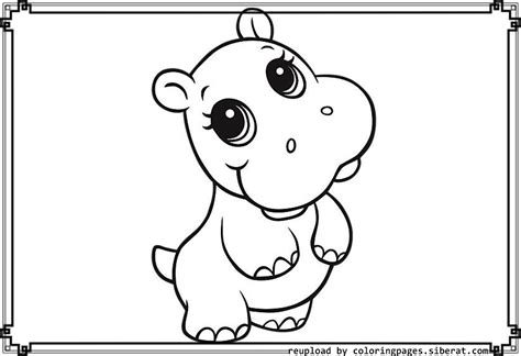 coloring pages of cute baby animals baby animal coloring pages bestofcoloring com