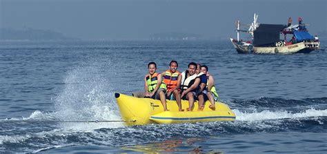 Bali Banana Boat Tanjung Benoa water sport gogonesia travel