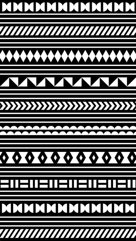 wallpaper black and white cute モノトーン模様 スマホ壁紙 iphone待受画像ギャラリー