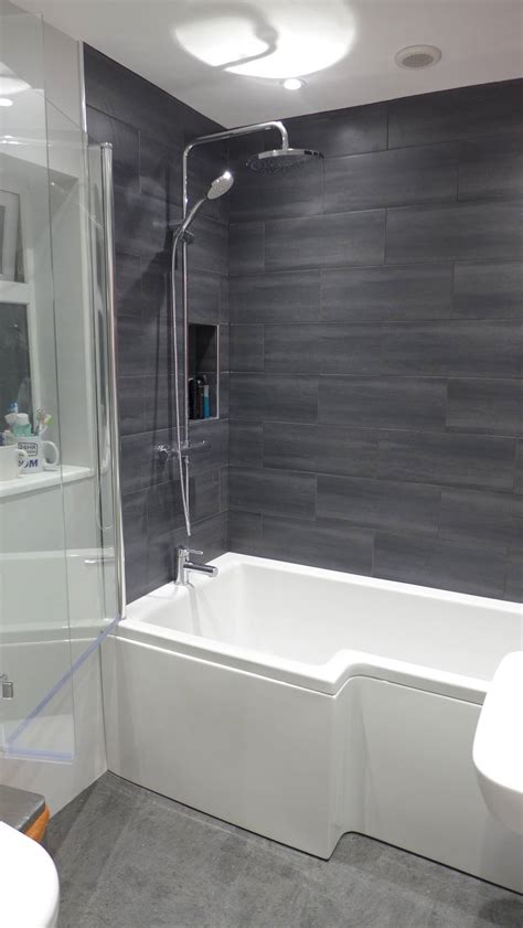 Family bathroom refurbishment bath style within
