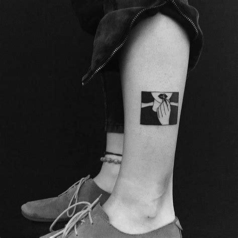 minimalist tattoo calf 25 best ideas about lipstick tattoos on pinterest