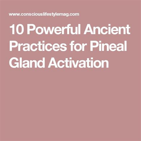 Pineal Gland Detox Side Effects by Best 25 Pineal Gland Ideas On Decalcify