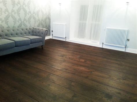 Distressed Plywood Floor - distressed wide oak planks hicraft wooden flooring ltd