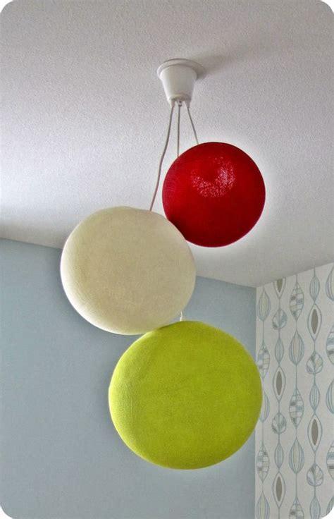 lustre boule papier couleur atlub
