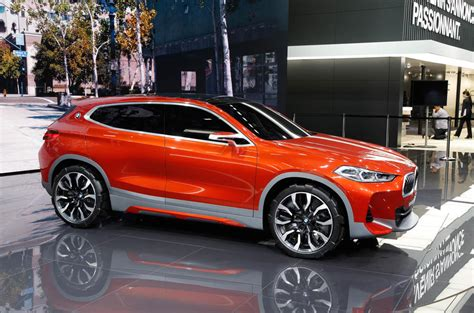 X2 Bmw 2018 Bmw X2 Previewed With Motor Show Concept Autocar
