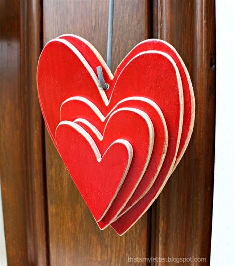 Decorative Hearts For The Home by Home Is Where The Is Door Decor