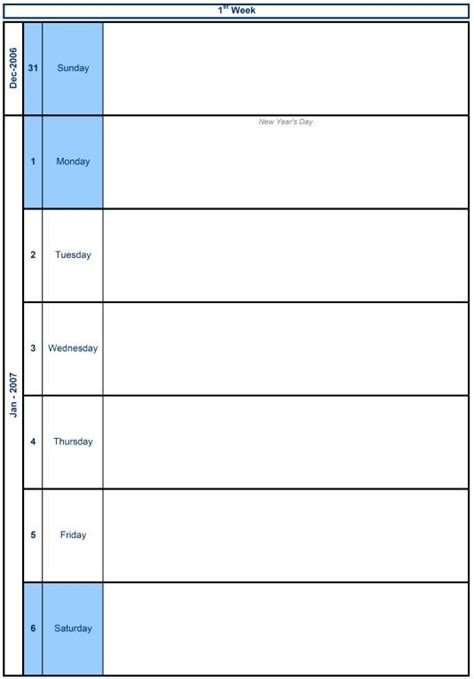 free appointment calendar templates 2015