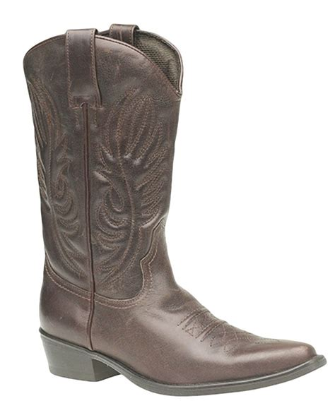 mens western cowboy boots ankle or harness style