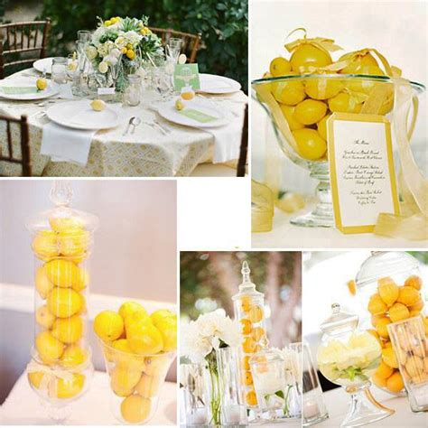 Lemon Decorations by 30 Bright Home Decorating Ideas Bringing Yellow Color And Lemons Into Decor