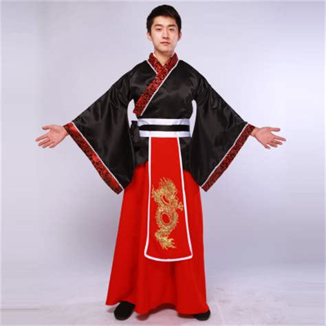 Minister han chinese clothing costume apparel black male han dynasty dragon embroidered clothing