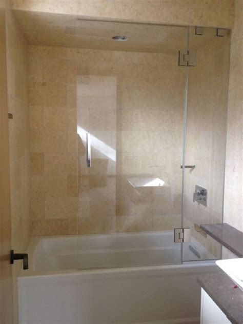 Shower Tub Glass Doors Frameless Glass Shower Doors For Tubs Frameless Decor Ideasdecor Ideas