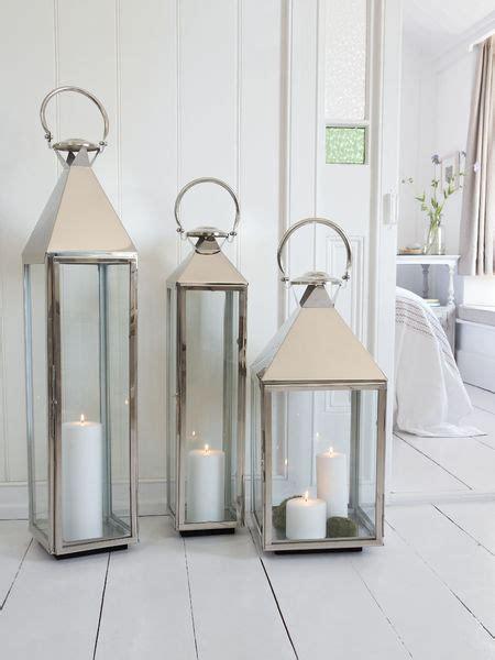 Big Stainless Steel Lanterns   Large Indoor Candle Lanterns