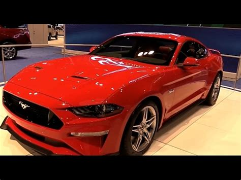 ford mustang ecoboost uk exterior  interior