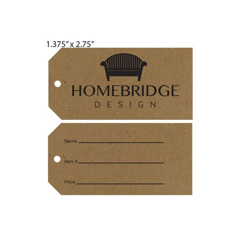 tag furniture custom printed furniture hang tags st louis tag
