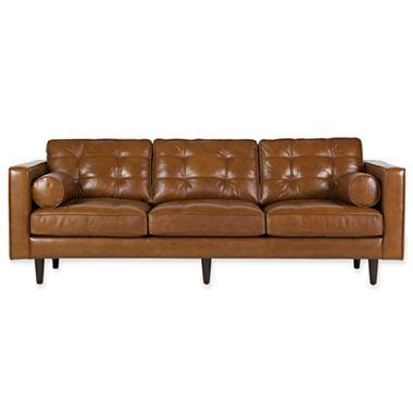 Sofas Jcpenney by Darrin 89 Quot Leather Sofa Jcpenney Chair Obsession
