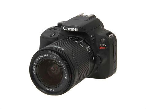 Kamera Canon Rebel Sl1 canon eos rebel sl1 8575b003 black 18 0 mp digital slr
