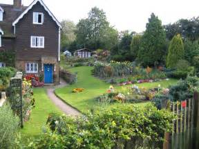 an english country garden plaxtol kent 169 rodney burton geograph britain and ireland