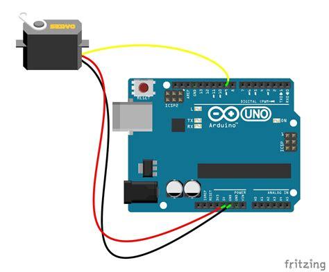 arduino servo motor speed servo sweep with serial monitor and knob speed