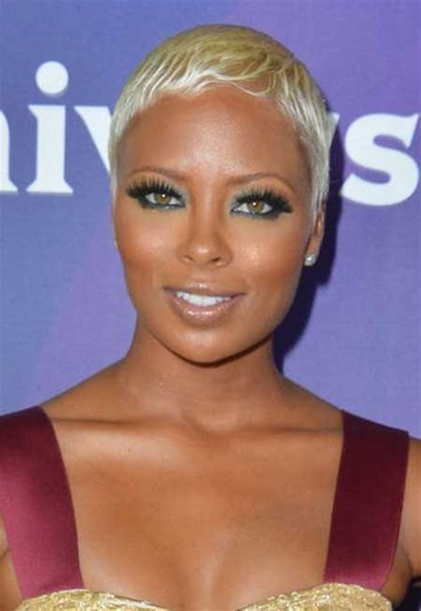 platum blonde hair on black women 25 best short hairstyles for black women 2014 short
