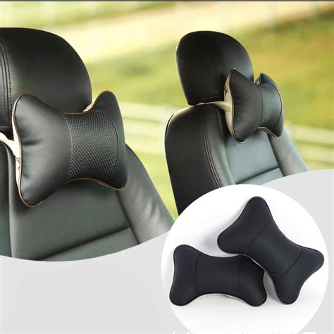 aliexpress buy 2 pcs pu leather car headrest neck