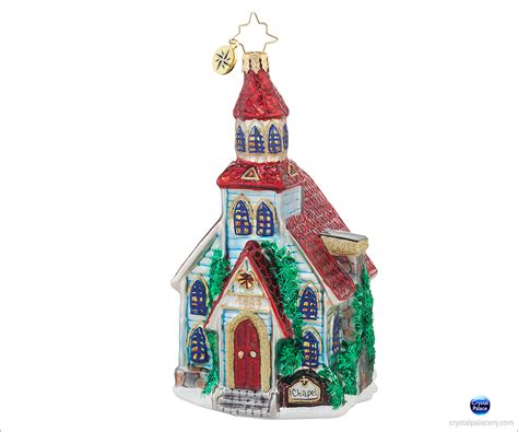 1017864 christopher radko winter worship christmas ornament
