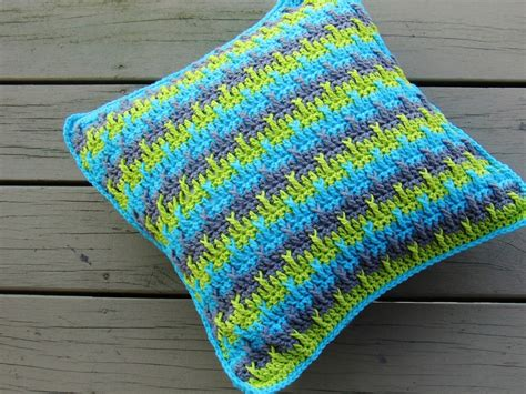 Crochet Pillow Cover Patterns crochet dreamz textured throw pillow cover crochet