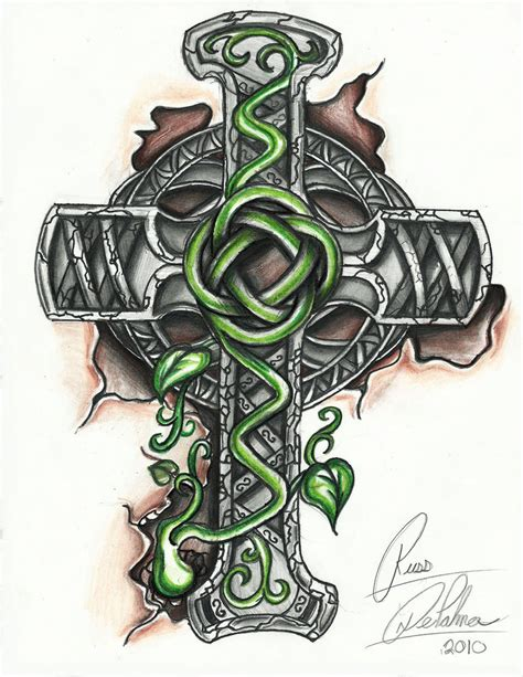 pics of celtic cross tattoos celtic cross by bloodwolf81 on deviantart