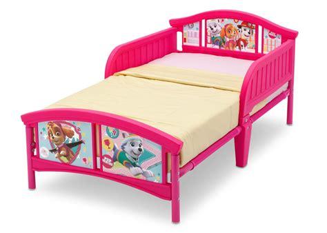paw patrol bed paw patrol skye everest plastic toddler bed delta