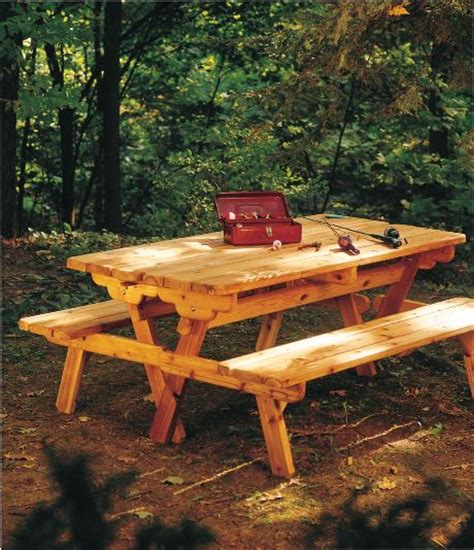 images  picnic table plans  pinterest