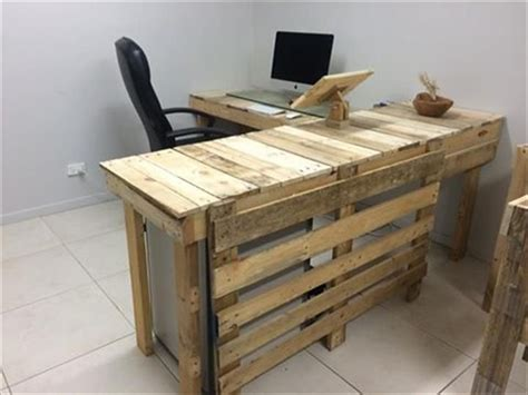 pallet office furniture diy diy pallet furniture