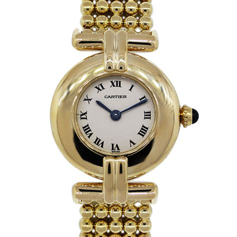 cartier 18k yellow gold vintage 1980s boca