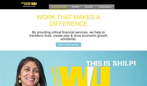 uffici western union western union lavora con noi posizioni aperte invia cv