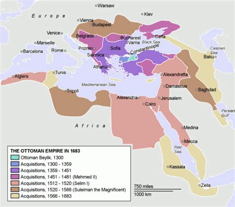 Ottoman Empire Timeline Map Ottoman Empire Founder