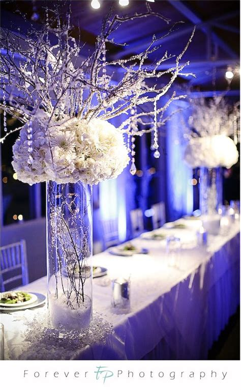 winter wedding table decor winter wedding centerpieces pictures wedding
