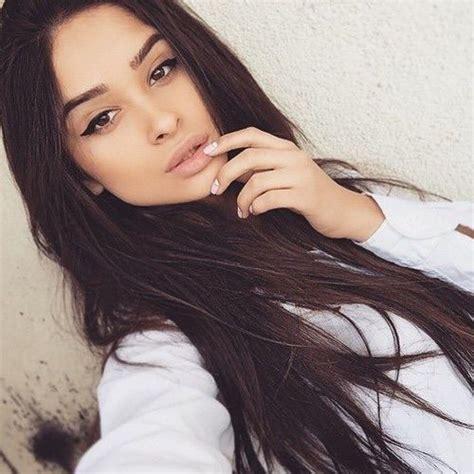 ebony hair cheyenne instagram eyeliner long black hair and perfect eyeliner on pinterest