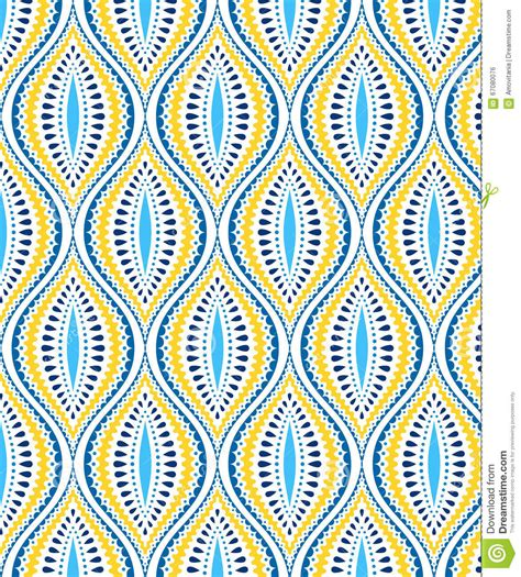 blue yellow pattern blue and yellow decorative pattern stock vector image